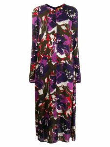 colville graphic print dress - Purple