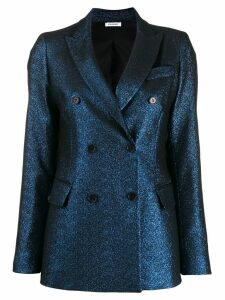 P.A.R.O.S.H. metallic double breasted blazer - Blue