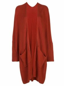 Natori chunky knit cardigan - Orange