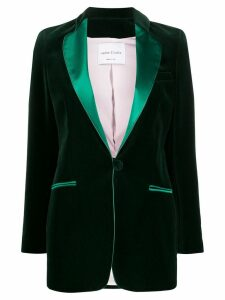 Hebe Studio Cady blazer - Green