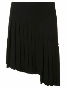 Mugler asymmetric skirt - Black