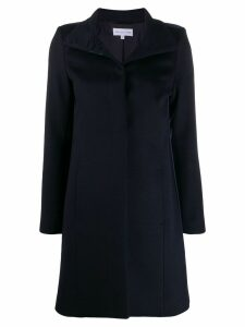 Patrizia Pepe slim-fit coat - Blue