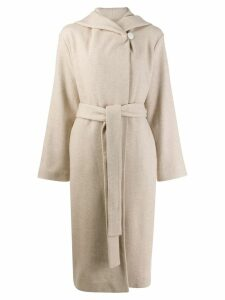 The Row belted long coat - Neutrals