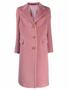 Tagliatore single breasted coat - Pink