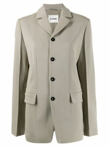 Jil Sander single-breasted blazer - Neutrals