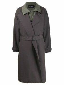 Low Classic layered trench coat - Grey