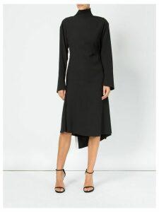 Litkovskaya backless asymmetric dress - Black