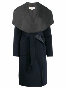 Michael Michael Kors shawl collar coat - Blue