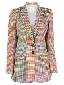 Rosie Assoulin check print blazer - Multicolour
