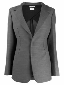 Bottega Veneta single-breasted blazer - Grey