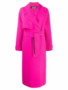 Jacquemus Sabe oversized trench coat - PINK