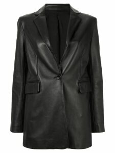 Joseph leather blazer - Black