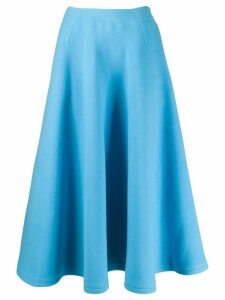 Courrèges flared skirt - Blue