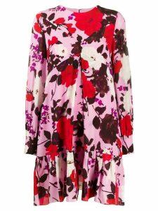 Erdem floral print shift dress - Pink