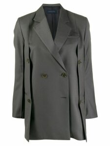 Eudon Choi double breasted jacket - Grey