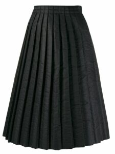 Mm6 Maison Margiela padded pleated skirt - Black