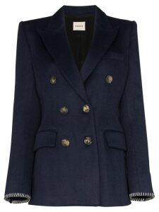 Khaite Darla double-breasted blazer - Blue