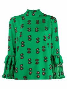 La Doublej floral print blouse - Green