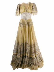 Etro paisley printed maxi dress - Neutrals