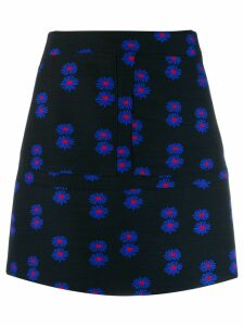 La Doublej floral mini skirt - Blue