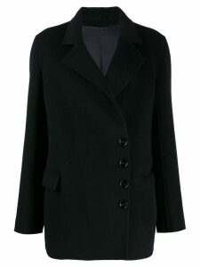 Joseph diagonal double-breasted coat - Blue