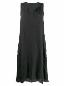 Kristensen Du Nord linen shift dress - Grey