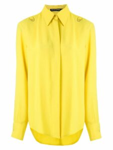 Reinaldo Lourenço open back shirt - Yellow