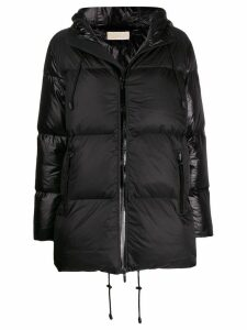 Michael Michael Kors zipped padded coat - Black