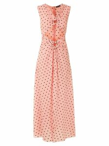 Reinaldo Lourenço polka dot maxi dress - PINK
