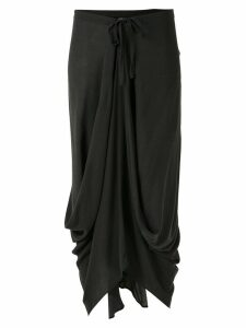 Uma Raquel Davidowicz Mexico drape skirt - Grey