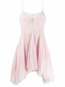 Philosophy Di Lorenzo Serafini flared shimmer dress - Pink