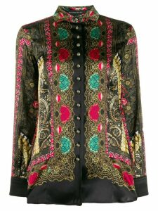 Etro patterned print shirt - Black