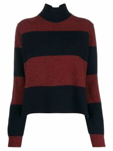 PS Paul Smith large stripes jumper - Blue
