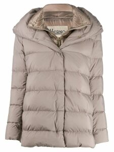Herno double layered padded coat - Grey
