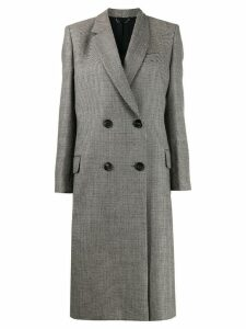 Fendi double breasted coat - Brown