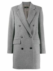 Joseph Elkins double-breasted coat - Grey