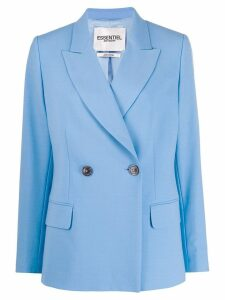 Essentiel Antwerp True double breasted blazer - Blue