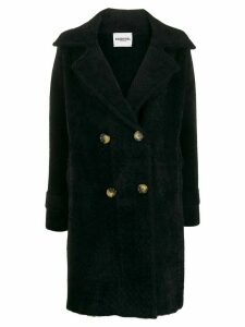 Essentiel Antwerp double-breasted coat - Black