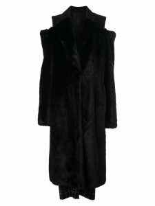 Vera Wang faux fur coat - Black