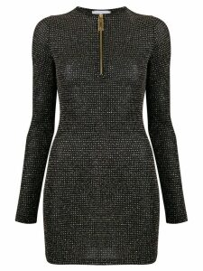 Gcds Glitter lurex mini dress - Black