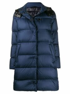 Fay hooded padded coat - Blue