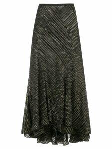 Diane von Furstenberg Debra crinkle skirt - Black