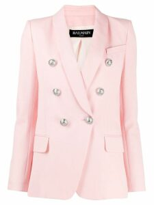 Balmain double breasted blazer - Pink