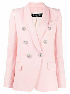 Balmain double breasted blazer - Pink