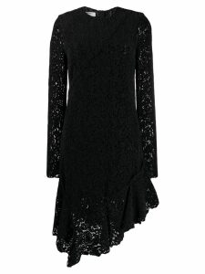 Philosophy Di Lorenzo Serafini lace asymmetric hem dress - Black