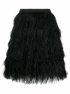 Gianluca Capannolo textured mini skirt - Black