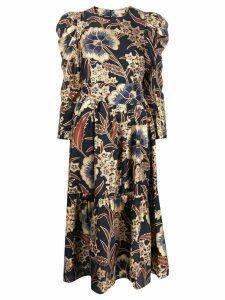 Ulla Johnson floral print dress - Blue