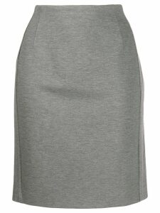 Escada Sport mid-rise pencil skirt - Grey