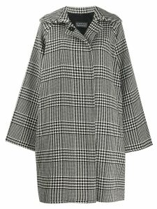Gianluca Capannolo oversized wool coat - White