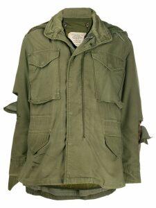 R13 multi-pocket detail jacket - Green